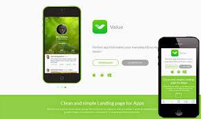 Blogger Mobile Template Value Responsive Mobile App Blogger Template Blogspot Templates 2018