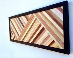 contemporary wood wall art sculpture