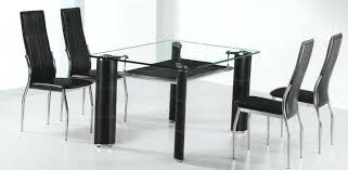 round dining table small glass top kitchen table this