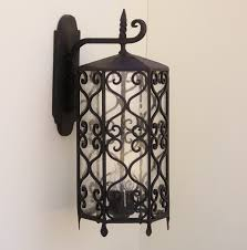 full size of lighting nice spanish wrought iron chandelier 21 revival outdoor fixturer style post antique