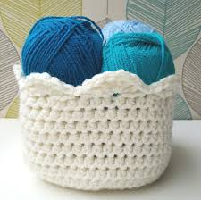 Free Crochet Basket Patterns Mesmerizing How To Crochet A Basket FREE Tutorial Pattern
