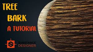 Substance Designer Beginner The Ultimate Tree Bark Material In Substance Designer