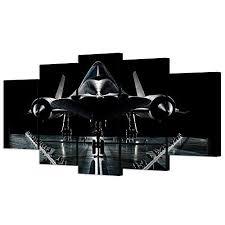military plane wall art