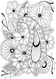 Simple Flower Coloring Pages Flower Coloring Pages Free Color Sheets