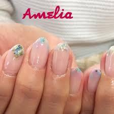 春夏シンプルフレンチショート Ameliaのネイルデザインno3380379