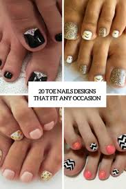 Pedicure Nail Designs 2013 20 Toe Nails Designs That Fit Any Occasion Styleoholic