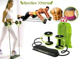 revoflex extreme revoflex xtreme home gym abs machine resistance band workout training muscles exercise slimming device as seen on tv