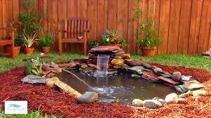 small waterfall to your pond