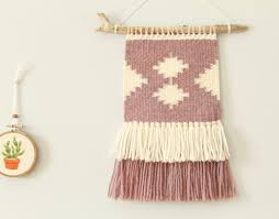 woven wall hanging tapestry small