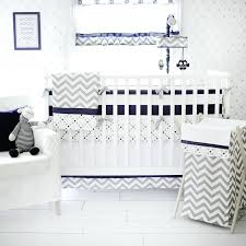 blue baby bedding gray and navy crib bedding out of the blue baby nursery collection