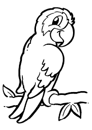 Small Picture Parrot Animal Coloring Page Coloring Page For Kids Kids Coloring