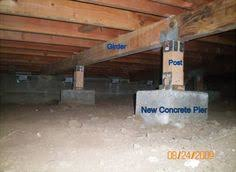 replace foundation under existing house. Interesting Foundation Concrete Pier Foundation  Click On An Image To Enlarge It House Foundation  Building To Replace Foundation Under Existing T