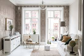 Traditional scandinavian furniture Flooring Here We Have Active Classic Wallpaper Recognizable White Kitchen Characteristic Sofa An Antique Dining Table And Of Course An Abundance Of White Decoist Traditional Scandinavian Design In Gothenburg Pufik Beautiful