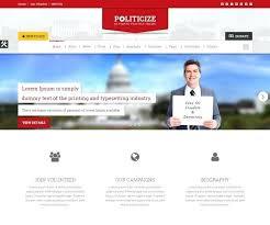 Political Website Templates Election Website Template Election Website Template Build A