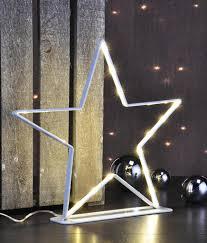 Led Metallstern Weihnachtsstern Stern Real