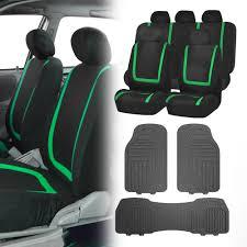 green car floor mats. Black Green Car Seat Covers With Gray Premium Floor Mats For Auto SUV 0 Green Car Floor Mats
