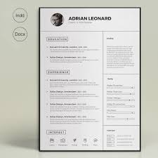 Super Resume Super Resume By Sz100 On Creativemarket Templates Pinterest 8