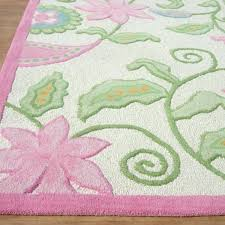 o9762905 pink rug 5x7 modern style pink fl loop woolen area rug pink and white 5x7
