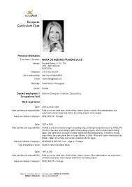 Create Curriculum Vitae Interesting Cv Maria R Fragoso