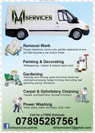 county antrim business directory business advertising for dump runs garden clearance or any job that requires a van and or trailer garden landscaping design view full advert details