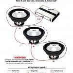 1 ohm sub wiring diagram kicker srt 4 wire dual unbelievable comp 12 what s more