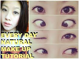 asian eye makeup tutorial every day natural make up tutorial asian eyes you