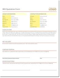 Catering Invoice Template Excel Amazing Bid Quotation Template For Excel Export Format In Word Catering