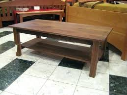 walnut coffee table solid walnut mission coffee table walnut coffee table with metal legs live edge walnut coffee table
