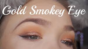 chatty simple gold y eye tutorial makeup junkie g