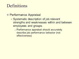 Performance Evaluation - Ppt Video Online Download