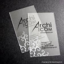 Cool Business Cards Architects Business Cards