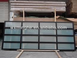 amazing folding glass garage doors with insulated glass garage door