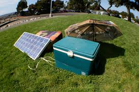 Solar Power Cooler You Can Use Solar Energy To Cool Your Summer Grub Gadzooki
