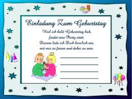 Lustige Einladungstexte Kindergeburtstag