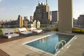 Nyc Penthouses For Parties Best Nyc Hotels With Pools For A Relaxing Poolside With Cocktails