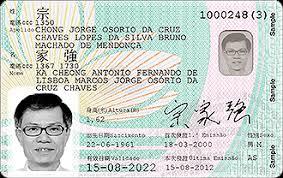 Cards Resident Card Gemalto Identity Contactless New Macau Eid w8FvYqF
