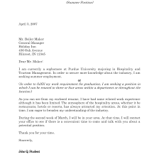 Best Hotel Hospitality Cover Letter Examples Livecareer Pics