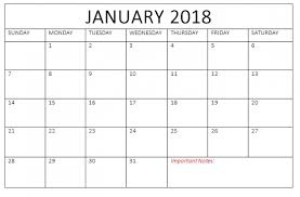 january 2018 calendar free free january 2018 calendar template