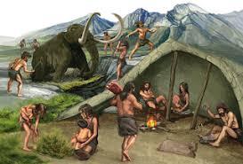 Las primeras sociedades humanas...