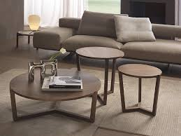 low round coffee table denny by pacini cappellini