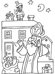 Sinterklaas Belt Piet Op Het Dak Sint Nicolaasteam