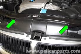 bmw e90 air filter replacement e91, e92, e93 pelican parts diy Fuse Diagram for 2001 BMW 325Ci large image extra large image