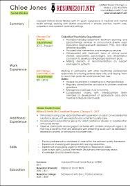 Exquisite Ideas Social Work Resume Template Professional Social