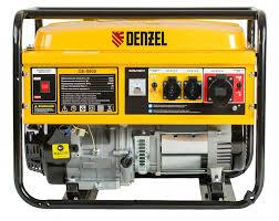 <b>Бензиновый генератор</b> 8,5 кВт, 220В/50Гц, 25 л <b>DENZEL GE</b> ...