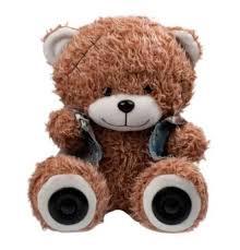 <b>Портативная</b> акустика <b>Ritmix ST</b>-<b>250</b> Bear BT Brown: цена ...