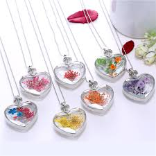 resin jewelry real flowers