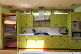 Colour For Kitchen Best Two Tone Kitchen Cabinets Orange Color For Small Trends And