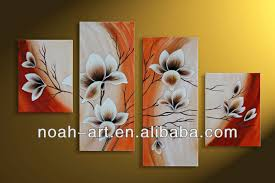 Small Picture Modern Art Paintings Flower Designs To Paint On Canvas Home Goods