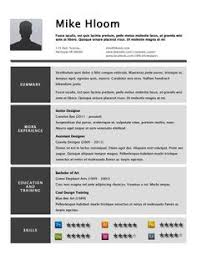 Free Resume Templates Hloom Resume Examples
