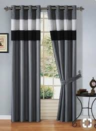 Black And White Curtain Designs Pin By Clare Ruhweza On Curtains Curtains Black White